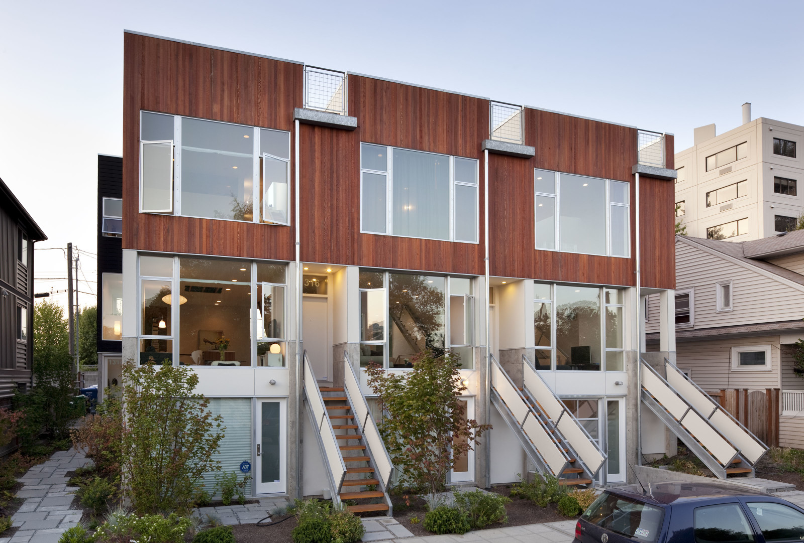 Remington Court Townhomes Hybrid Architecture Seattle
